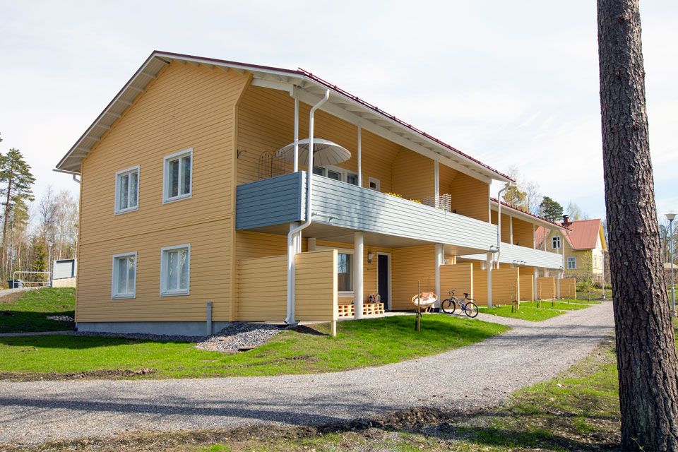 Vuokra-asuntoja Liljendalissa