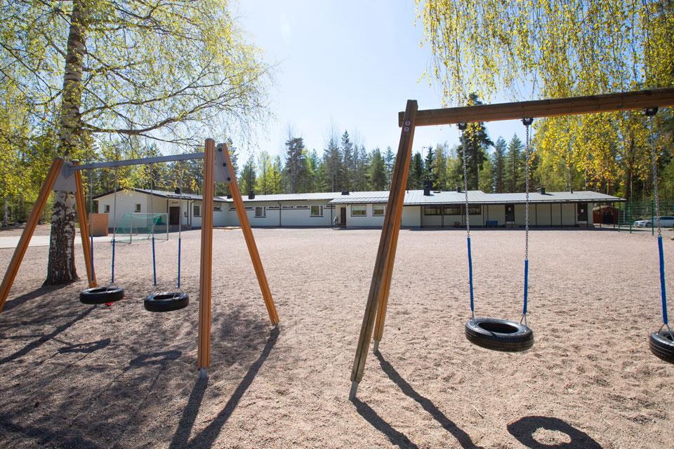 Koskenkylän koulu ja Sävträsk skola