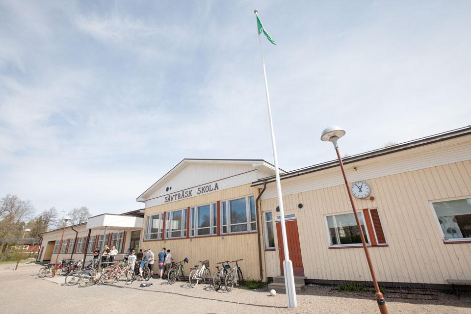 Sävträsk skola och Koskenkylän koulu